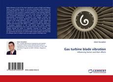 Обложка Gas turbine blade vibration