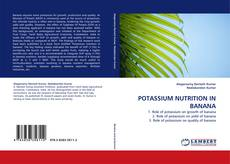 Bookcover of POTASSIUM NUTRITION IN BANANA