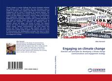 Portada del libro de Engaging on climate change