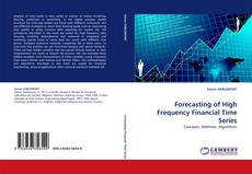 Bookcover of Forecasting of High Frequency Financial Time Series
