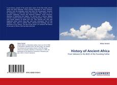 Bookcover of History of Ancient Africa