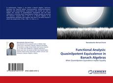 Bookcover of Functional Analysis: Quasinilpotent Equivalence in Banach Algebras