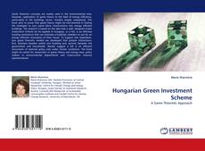 Bookcover of Hungarian Green Investment Scheme