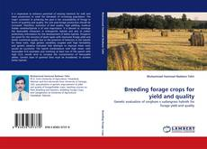 Обложка Breeding forage crops for yield and quality