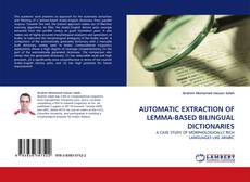 Bookcover of AUTOMATIC EXTRACTION OF LEMMA-BASED BILINGUAL DICTIONARIES