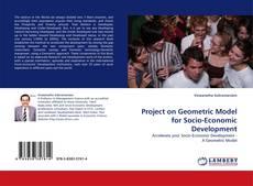Capa do livro de Project on Geometric Model for Socio-Economic Development