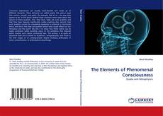 Bookcover of The Elements of Phenomenal Consciousness