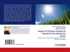 Обложка Impact of Climate Change on Runoff of the Lithuanian Rivers