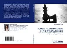 Bookcover of TURKISH-ITALIAN RELATIONS IN THE INTERWAR PERIOD