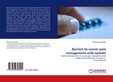 Borítókép a  Barriers to cancer pain management with opioids - hoz