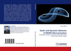 Static and Dynamic Behavior of MEMS Microactuators kitap kapağı