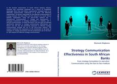 Bookcover of Strategy Communication Effectiveness in South African Banks