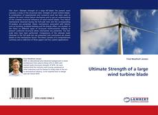 Bookcover of Ultimate Strength of a large wind turbine blade