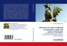 Bookcover of Advances in wave modeling in dissipative solid and porous rheologies