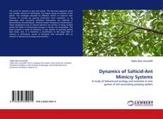 Borítókép a  Dynamics of Salticid-Ant Mimicry Systems - hoz