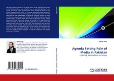 Bookcover of Agenda Setting Role of Media in Pakistan