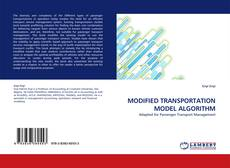Bookcover of MODIFIED TRANSPORTATION MODEL ALGORITHM