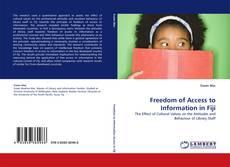Portada del libro de Freedom of Access to Information in Fiji