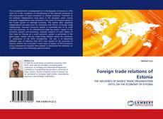 Foreign trade relations of Estonia kitap kapağı