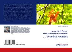 Impacts of forest management on selected ecosystem properties的封面