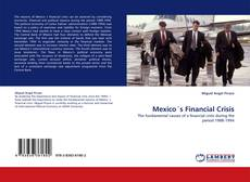 Couverture de Mexico´s Financial  Crisis