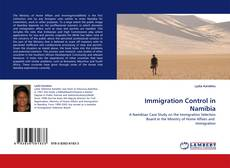 Bookcover of Immigration Control in Namibia
