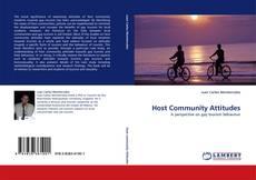 Обложка Host Community Attitudes