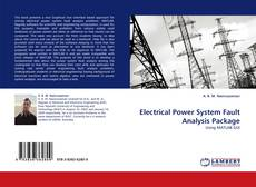 Buchcover von Electrical Power System Fault Analysis Package