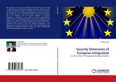 Security Dimension of European Integration kitap kapağı