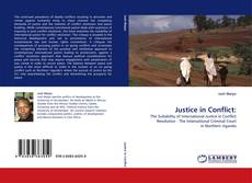 Bookcover of Justice in Conflict: