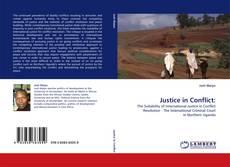Copertina di Justice in Conflict:
