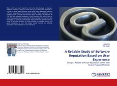 Capa do livro de A Reliable Study of Software Reputation Based on User Experience