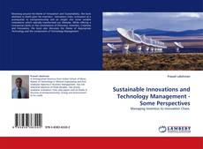 Buchcover von Sustainable Innovations and Technology Management - Some Perspectives