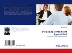 Bookcover of Developing Mental Health Support Work