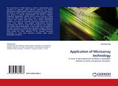 Application of Microarray technology kitap kapağı