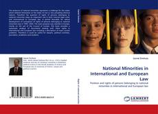 Bookcover of National Minorities in International and European Law