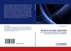 Обложка EFFECTS OF ZINC ADDITION