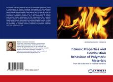 Bookcover of Intrinsic Properties and Combustion Behaviour of Polymeric Materials