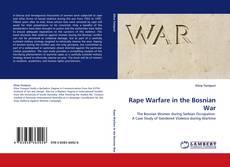 Bookcover of Rape Warfare in the Bosnian War