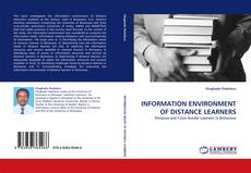 Copertina di INFORMATION ENVIRONMENT OF DISTANCE LEARNERS