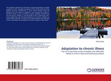 Bookcover of Adaptation to chronic illness