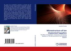 Bookcover of Microstructure of Ion Implanted Sapphire