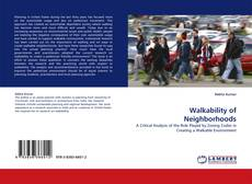 Couverture de Walkability of Neighborhoods