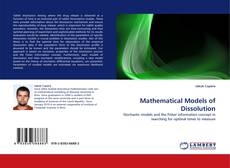 Bookcover of Mathematical Models of Dissolution