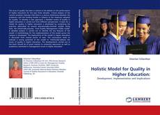 Holistic Model for Quality in Higher Education: kitap kapağı