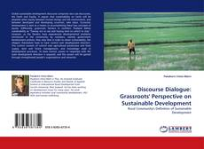 Capa do livro de Discourse Dialogue: Grassroots'' Perspective on Sustainable Development