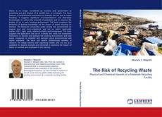 Bookcover of The Risk of Recycling Waste