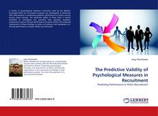 Couverture de The Predictive Validity of Psychological Measures in Recruitment