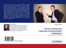 Bookcover of Finnish and Russian corporate communication comparison