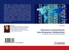 Bookcover of Electronic Contracting for Inter-Enterprise Collaboration